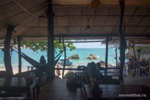 Закат на пляже Тонг Плу Самуи