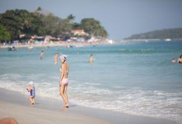 Пляж Чавенг в Феврале