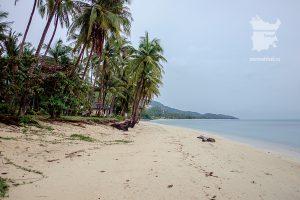 Пляж Бан-Тай в сезон дождей