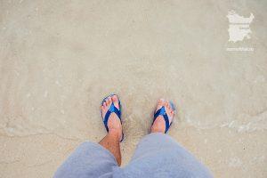 Песок и вода пляжа Бан-Тай Самуи