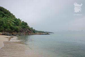 Пляж Бан-Тай в пасмурный день