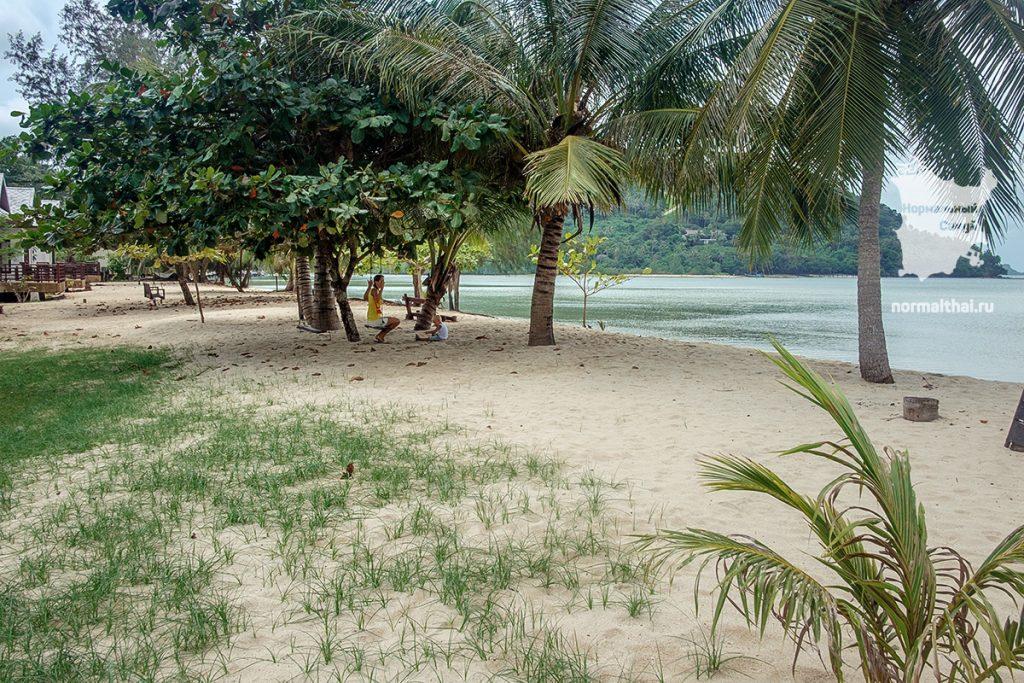 Пляж Пангка