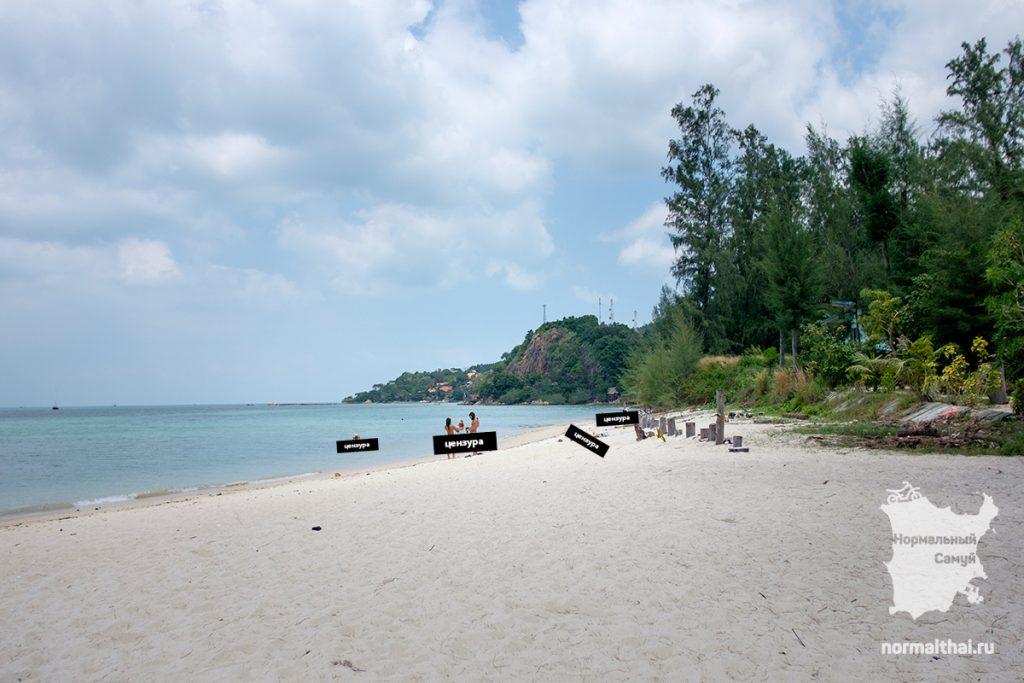 Нудистский пляж на Пангане