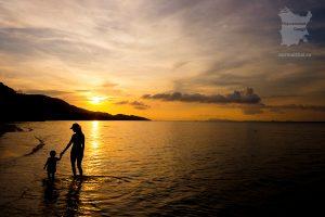 Закат на пляже Бан-Тай