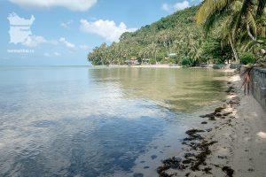 Вода пляжа Пангка