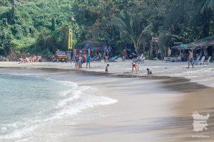 пляж Чонг Мон центральная часть
