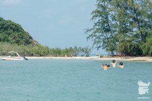 Переход на острова Ko Fan Noi и Ko Fan Yai