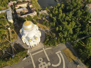 аэро панорама Морской собор
